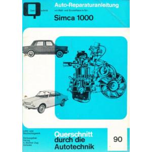 Simca 1000 - Reparaturanleitung