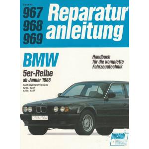 BMW 5er-Reihe 520i / 525i / 530i / 535i (ab 1988) - Reparaturanleitung