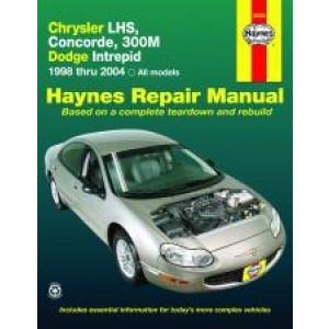 Chrysler LHS, Concorde, 300M and Dodge Intrepid (98 - 04) - Repair Manual Haynes