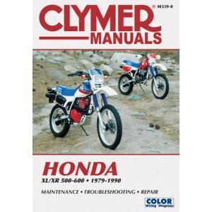 Honda XL XR 500 600 Singles (79-90)  Repair Manual