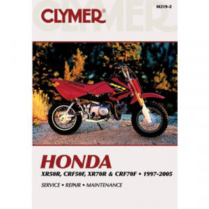 Honda XR50R, CRF50F, XR70R, CRF70F (97-05) Clymer Repair Manual