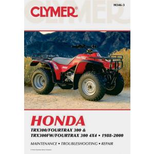 Honda TRX 300 Fourtrax / FW / 4x4 (88-00) Clymer Repair Manual