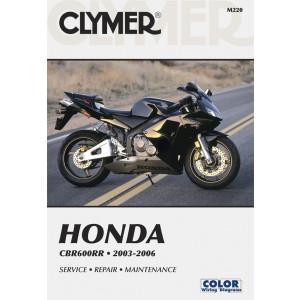 Honda CBR 600 RR (03-06) Clymer Repair Manual