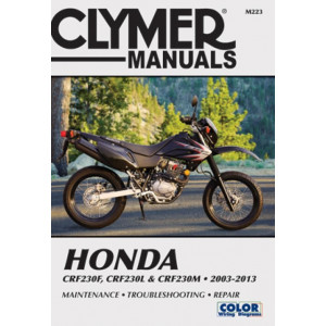 Honda CRF 230 F / L / M (03-13) Clymer Repair Manual