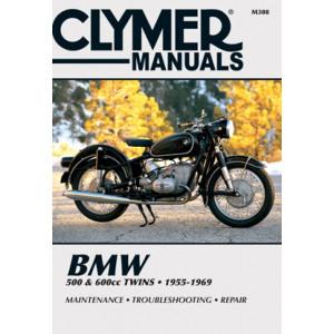 BMW R 50 / R 60 / R 69 Repair Manual Clymer