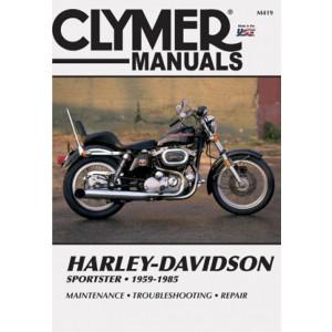 Harley Davidson Sportster (59-85) Clymer Service Manual