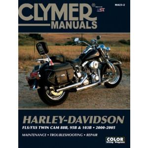 Harley Davidson FLS / FXS Twin Cam 88 / 95 /103 B (00-05) Clymer Repair Manual