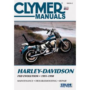 Harley Davidson FXD Evolution (91-98) Clymer Repair Manual