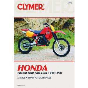 Honda CR250 / 500R Pro-Link (81-87) Clymer Repair Manual
