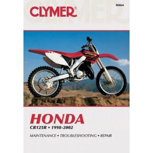 Honda CR 125 (98-02) Clymer Repair Manual