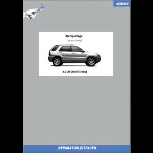 KIA Sportage KM (2005) Werkstatthandbuch 2.0 Liter CRDI Diesel SOHC