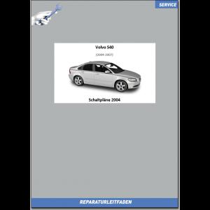 Volvo S40 Werkstatthandbuch Schaltpläne 2004
