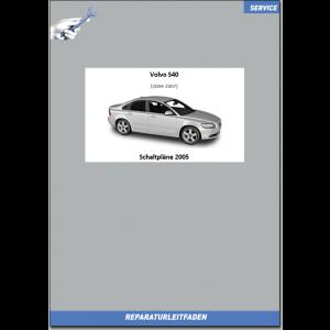 Volvo S40 Werkstatthandbuch Schaltpläne 2005