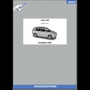 Volvo V50 (2005) Werkstatthandbuch Schaltpläne