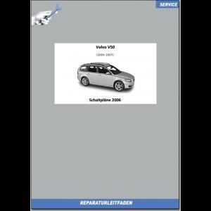 Volvo V50 (2006) Werkstatthandbuch Schaltpläne