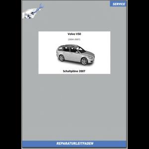 Volvo V50 (2007) Werkstatthandbuch Schaltpläne