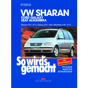 VW Sharan / Ford Galaxy / Seat Alhambra Reparaturanleitung So wird`s gemacht