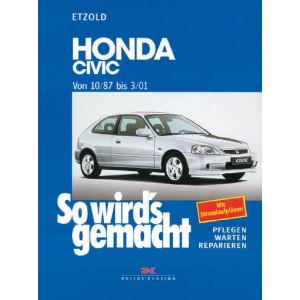 Honda Civic (10/87-03/01)  - Reparaturanleitung