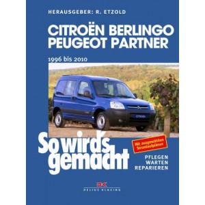 Citroën Berlingo & Peugeot Partner Reparaturanleitung Delius 161 So wird`s gemacht