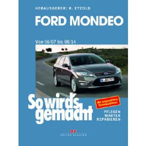 Ford Mondeo Reparaturanleitung Delius 164 So wird`s gemacht