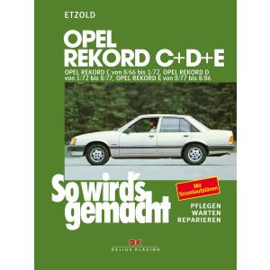 Opel Rekord C+D+E  - Reparaturanleitung