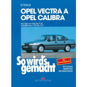 Opel Vectra A / Opel Calibra  Reparaturanleitung So wird`s gemacht