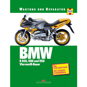 BMW R 850, 1100, 1150 R, GS, RS, S, RT - Reparaturanleitung