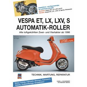 Vespa ET LX LXV S Automatik Roller Reparaturanleitung
