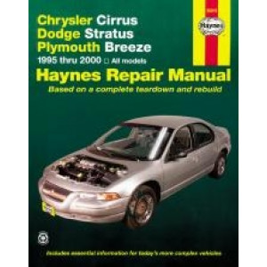 Chrysler Cirrus / Dodge Stratus / Plymouth Breeze (95-00) Repair Manual Haynes