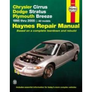 Chrysler Cirrus / Dodge Stratus / Plymouth Breeze (95-00) Repair Manual Haynes