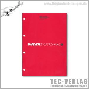 Ducati Sporttouring ST4s ABS (2004) - Werkstatthandbuch / Manuel d'ateliere