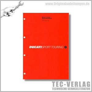 Ducati Sporttouring ST4s (2002) - Werkstatthandbuch / Manuel d'ateliere