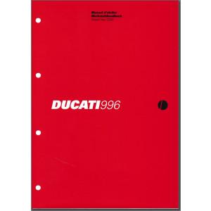 Ducati 996 (2000) - Werkstatthandbuch / Manuel d'ateliere