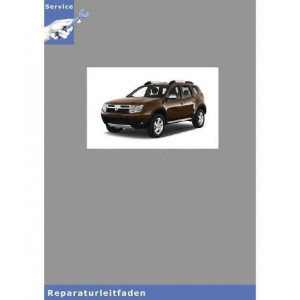 Dacia Duster (>10) 6-Gang Doppelkupplungsgetriebe EDC - Werkstatthandbuch