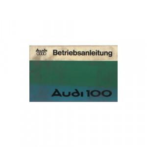 Audi 100 (76>) C2  - Betriebsanleitung