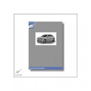 Audi A1 8X (11>) 5 Gang-Schaltgetriebe 02R - Reparaturleitfaden