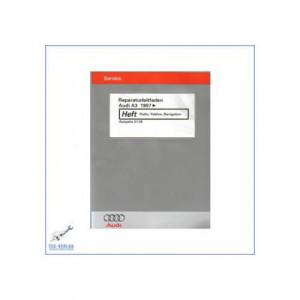 Audi A3 (97>) Radio Telefon Navigation - Reparaturanleitung