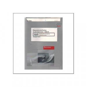 Audi Cabriolet (>92) - Kraftstoffversorgung Dieselmotoren - Reparaturleitfaden