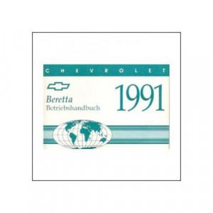Chevrolet Beretta (91>) - Owner manual