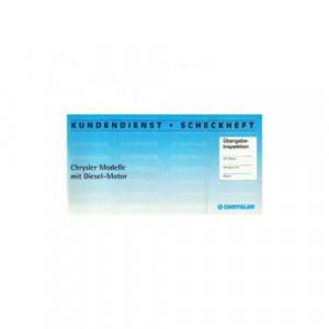 Chrysler Kundendienst - Scheckheft