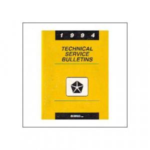 Chrysler Technical Service Bulletins (94) - Werkstatthandbuch