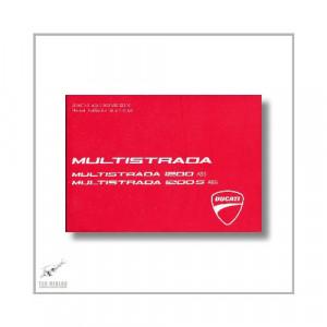 Ducati Multistrada 1200 / 1200 S ABS (03>) Manuel d utilisation et entretien