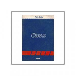 Fiat Uno D - Kundendienst-Handbuch