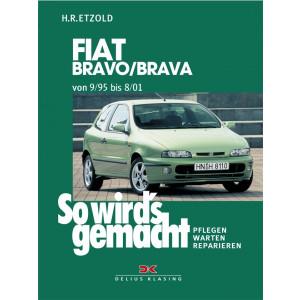 Fiat Bravo / Brava Reparaturanleitung Delius 106 So wird`s gemacht