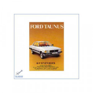 Ford Taunus (ab 1979) - Kurzanleitung in Posterform