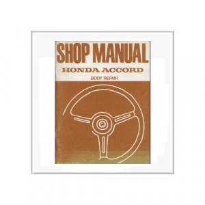 Honda Accord 1979 Fahrgestell - Ergänzung Werkstatthandbuch
