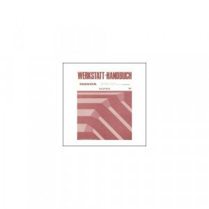 Honda Accord Coupe / Accord Aero Deck / WAGON (95>) - Werkstatthandbuch - Nachtrag