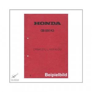 Honda CB 125 J - Ersatzteilkatalog
