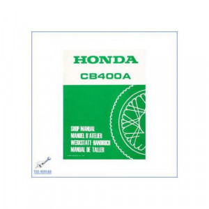 Honda CB 400 A / CB 400 Automatic (>77) Werkstatthandbuch