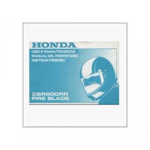 Honda CBR 900 RR Fire Blade - Betriebsanleitung